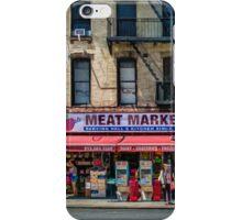 Manhattan Meat Market iPhone Case/Skin