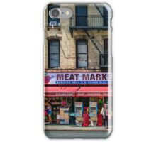 Manhattan Meat Market iPhone Case/Skin
