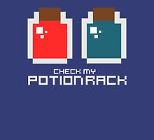 Check My Potion Rack Womens Fitted T-Shirt
