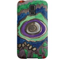 Paradise within blazing Flames Samsung Galaxy Case/Skin