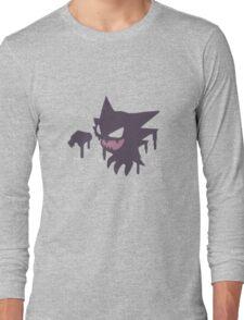 Pokemon - Haunter Paint Tee Long Sleeve T-Shirt