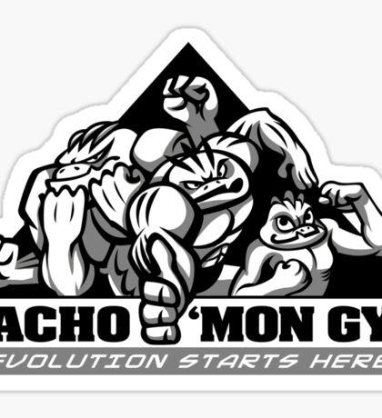 Macho'mon Gym Sticker