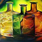 Three Bottles by Robert Zunikoff