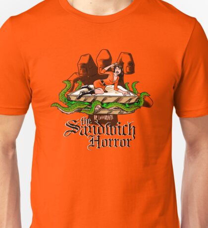 HP LoveKRAFT's the Sandwich Horror Unisex T-Shirt