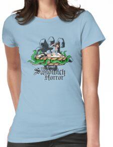 HP LoveKRAFT's the Sandwich Horror Womens Fitted T-Shirt