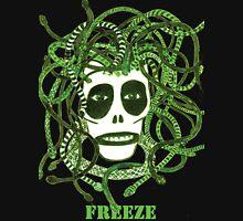 Green Freeze Medusa head Unisex T-Shirt