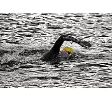 Triathlon Swimmer Photographic Print