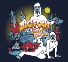 Bigfoot in little China by Gimetzco