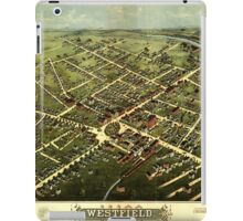 Panoramic Maps Westfield 1875 iPad Case/Skin