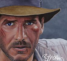 Indiana Jones by barrymckay