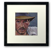 Indiana Jones Framed Print