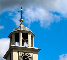 Clock Tower above Archway by jaytr08