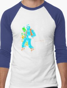 Who Ghost there? Men's Baseball ¾ T-Shirt