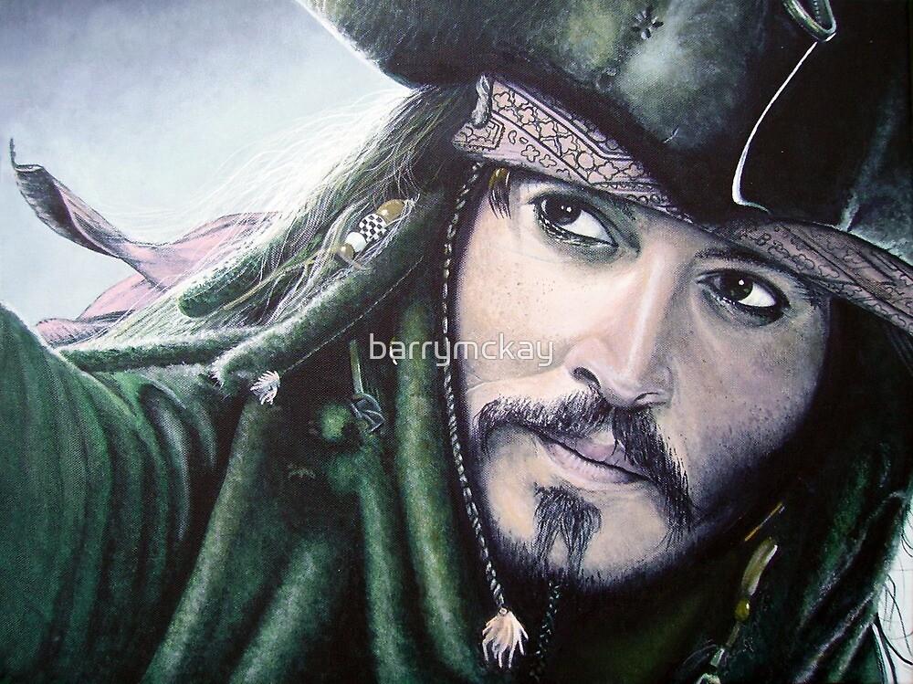 Jack Sparrow by barrymckay