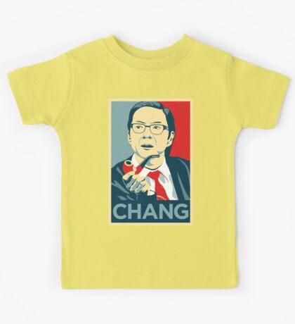 Chang We Can Believe In (Community) Kids Tee