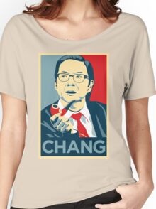 Chang We Can Believe In (Community) Women's Relaxed Fit T-Shirt