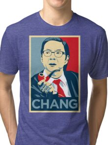 Chang We Can Believe In (Community) Tri-blend T-Shirt