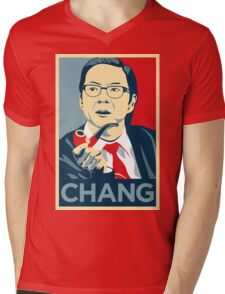 Chang We Can Believe In (Community) Mens V-Neck T-Shirt