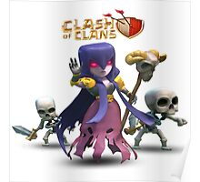 Clash Of Clans Caracter Poster