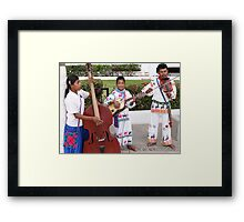 The Band - La Banda Framed Print