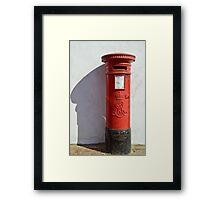 Pillar box Framed Print