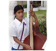 The Daughter - Bassist - La Hija - La Bajista Poster