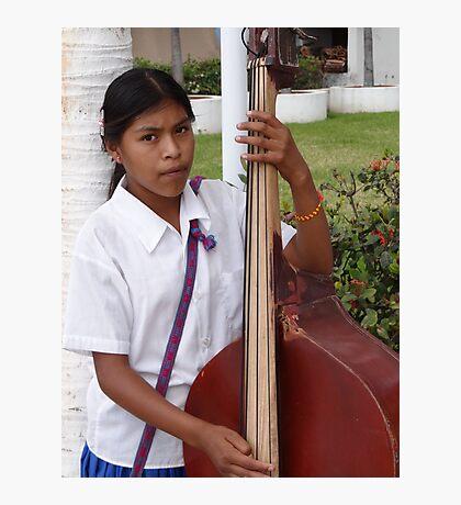 The Daughter - Bassist - La Hija - La Bajista Photographic Print