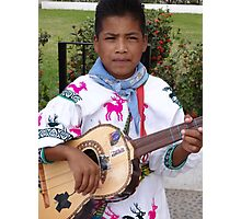 The Son - Guitar And Vocal - El Hijo - Guitarrista Y Cantante Photographic Print