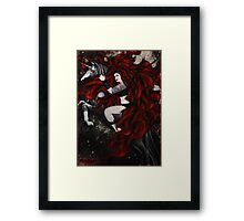 You are the pale moonlight reflected in my eyes Framed Print