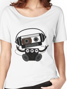 Cassette Robot Women's Relaxed Fit T-Shirt