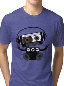 Cassette Robot Tri-blend T-Shirt