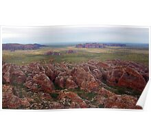 Bungles as seen from the chopper Poster