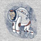 Astronaut Ape by Gimetzco