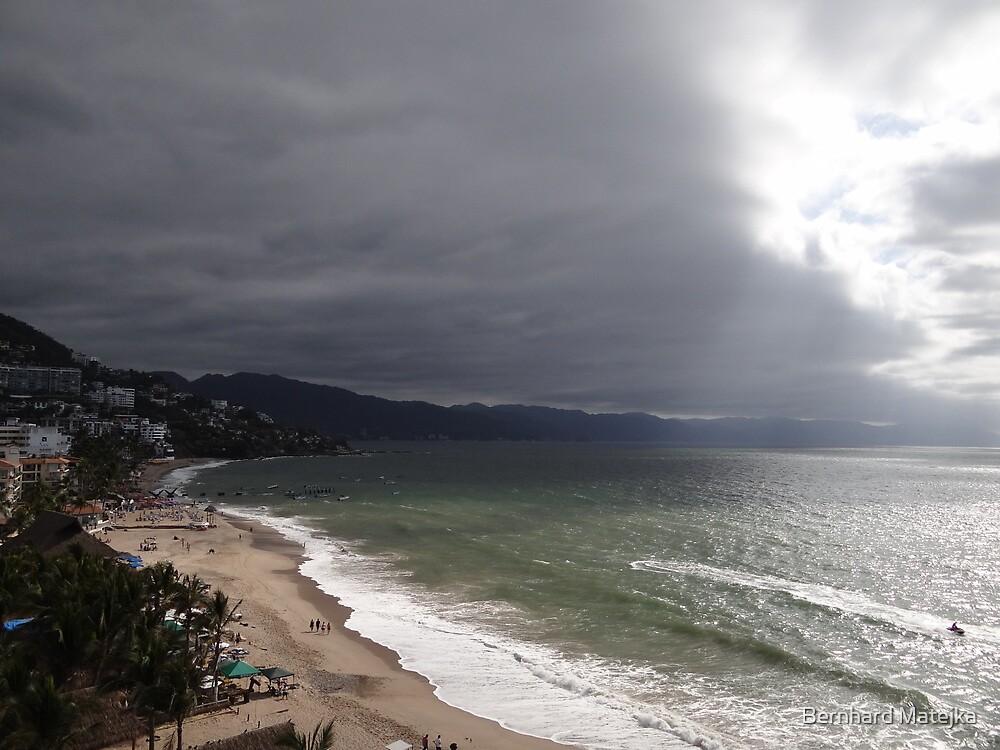 Afternoon At The Bay Of Banderas - Tardecita by Bernhard Matejka