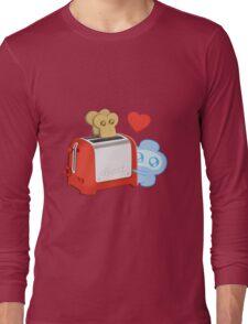 Bravest Warriors - Jelly Kid Love Toast Long Sleeve T-Shirt