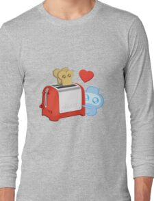 Bravest Warriors - Jelly Kid Love Toast Long Sleeve T-Shirt