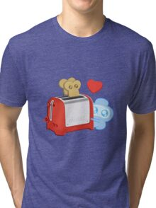 Bravest Warriors - Jelly Kid Love Toast Tri-blend T-Shirt