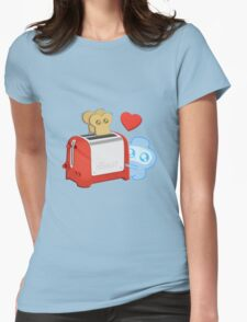 Bravest Warriors - Jelly Kid Love Toast Womens Fitted T-Shirt