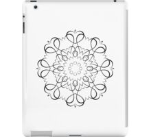 Blackwork Hearts iPad Case/Skin