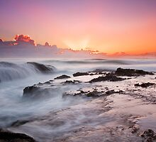Daybreak at Currumbin - Gold Coast Qld. Australia by Beth  Wode