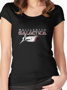 Battlestar Galactica Viper T-shirt Women's Fitted Scoop T-Shirt