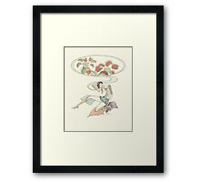 beauty dreaming Framed Print