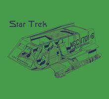 Star Trek Shuttle Kids Clothes