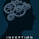 Inception poster by Mina Marković