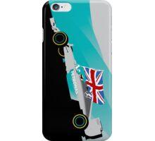 Lewis Hamilton Mercedes F1 World Champion iPhone Case/Skin