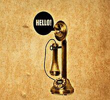 Hello!! - iPhone skin by Scott Mitchell