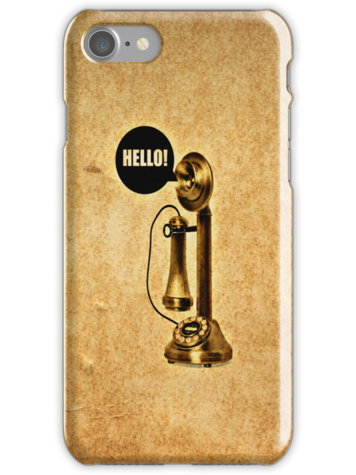 Hello!! - iPhone skin by Scott Mitchell