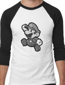Olde Timey Mario Men's Baseball ¾ T-Shirt