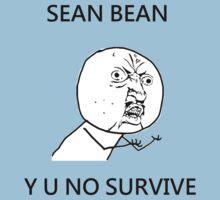 Sean Bean Y U NO One Piece - Short Sleeve