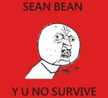 Sean Bean Y U NO Baby Tee